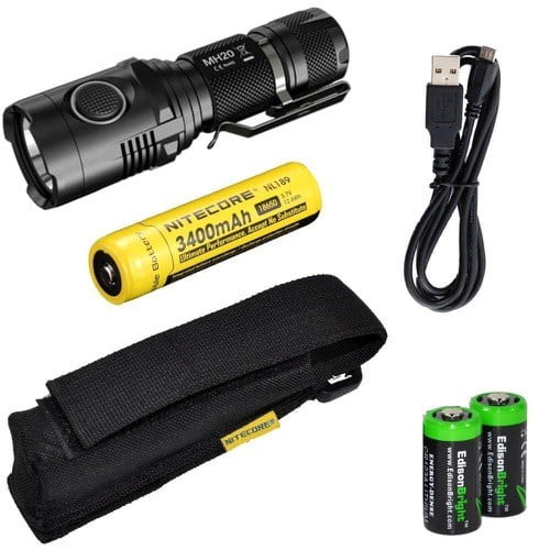 Nitecore MH20 Rechargeable LED 18650 Flashlight