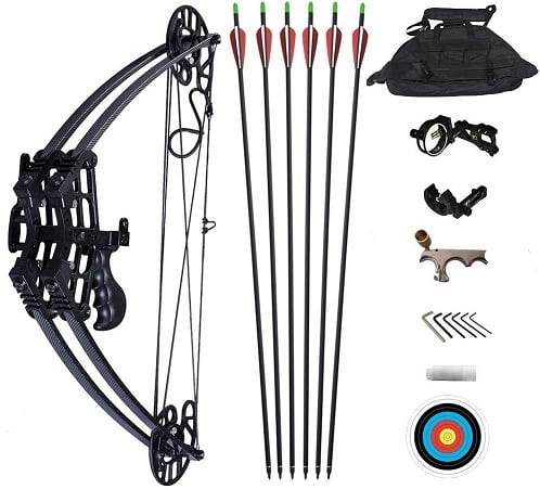 Atropos 109 Archery Hunting Compound Bow Set