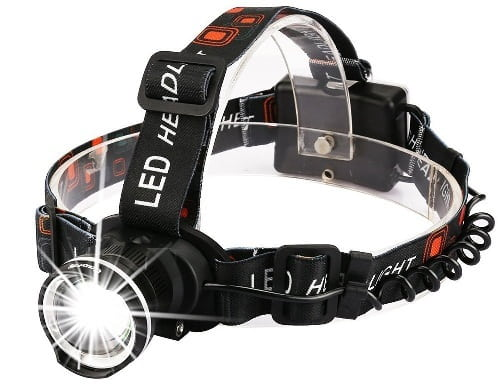CrazyFire Super Bright LED Headlamp For Hunting