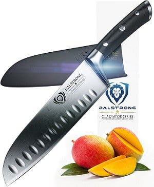 Dalstrong Gladiator Series 7-Inch Santoku Knife