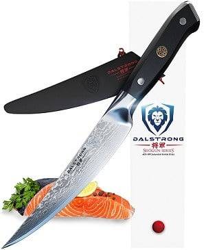 Dalstrong Vacuum Heat Treated 6-Inch Fish Fillet Knife