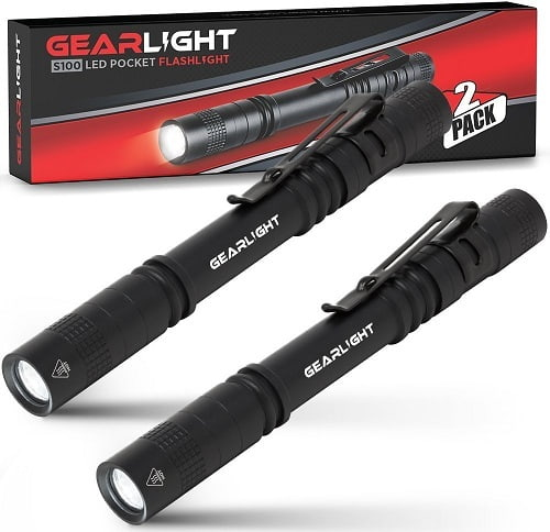 Gearlight S1000 LED Penlight Pocket Flashlight