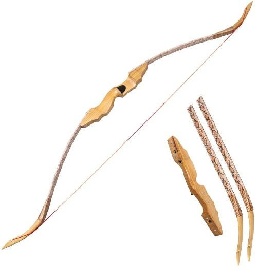 Huntingdoor Traditional Take-Down Recurve Bow