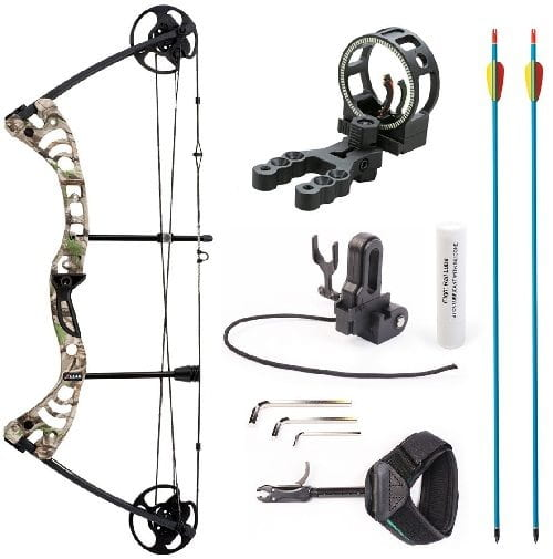 Leader Accessories 55-Lb Compound Bow
