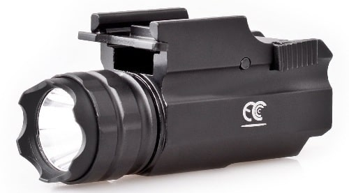 MCCC Rail Mount Tactical Pistol Light