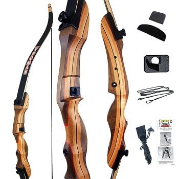 Old World Yeoman Traditional Take-Down Recurve Bow Set