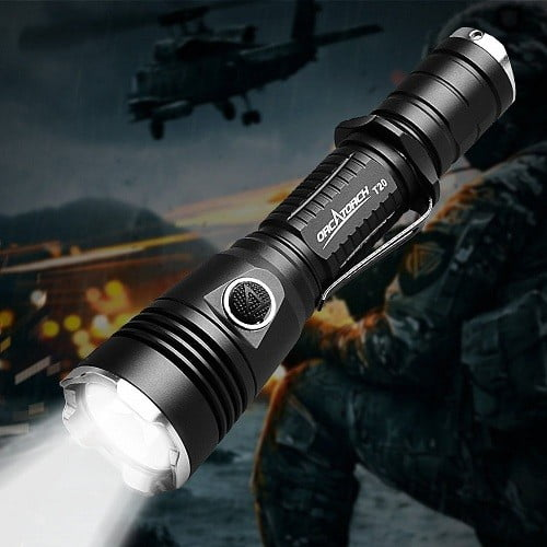 Orcatorch T20 Rechargeable Police Flashlight