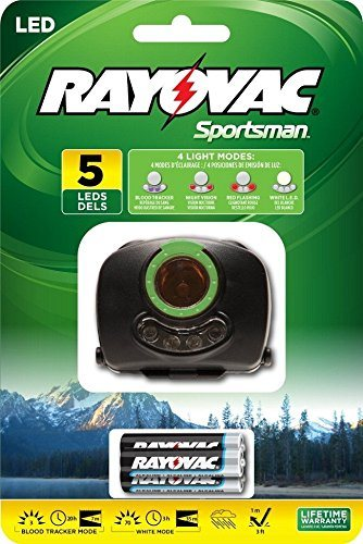 Rayovac Sportsman Blood Tracking Light With Batteries