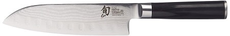 Shun DM0718 Classic 7-Inch Hollow Ground Knife