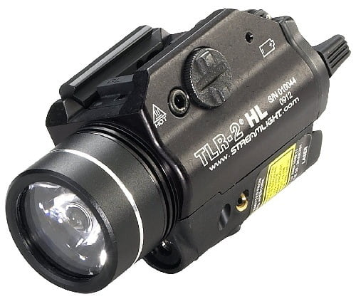 Streamlight 69261 TLR-2 Shotgun Light With Red Laser - Best Shotgun Laser Light