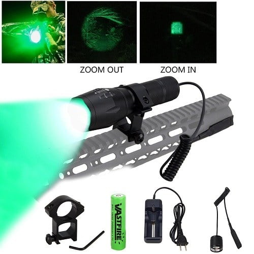 Vastfire Zoomable Green Light For Ar15