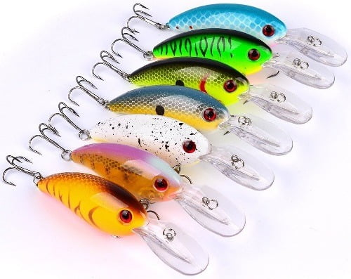 A-szcxtop Fishing Bass Lure