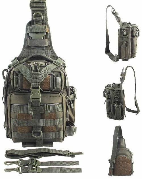 Blisswill Outdoor Multifunctional Fishing Backpack