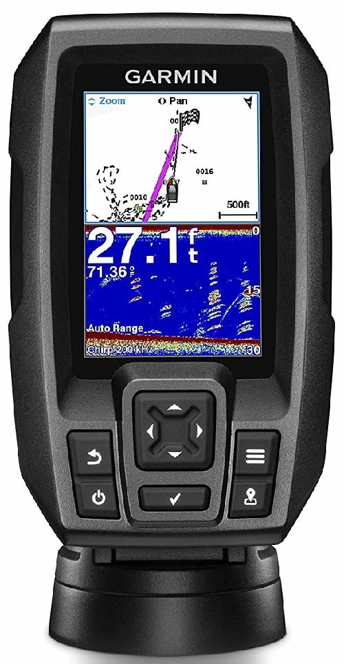 Garmin Striker 4 Built-in GPS Fishfinder Best Overall Portable Fish Finder