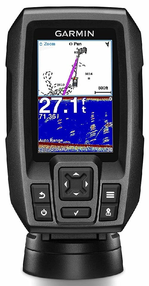 Garmin Striker 4 Built in GPS Kayak Fish Finder Best Overall Kayak Fish Finder