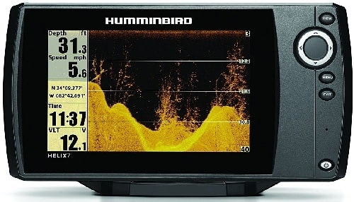 Humminbird 409800-1 Helix 7 DI Fish Finder with Down Imaging Sonar