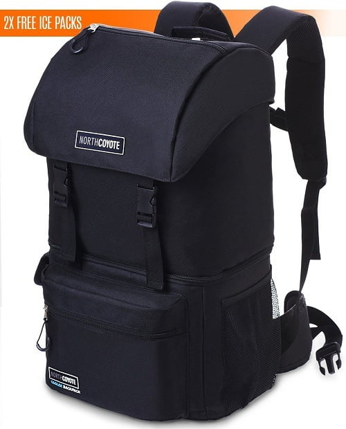 North Coyote Cooler Fishing Backpack