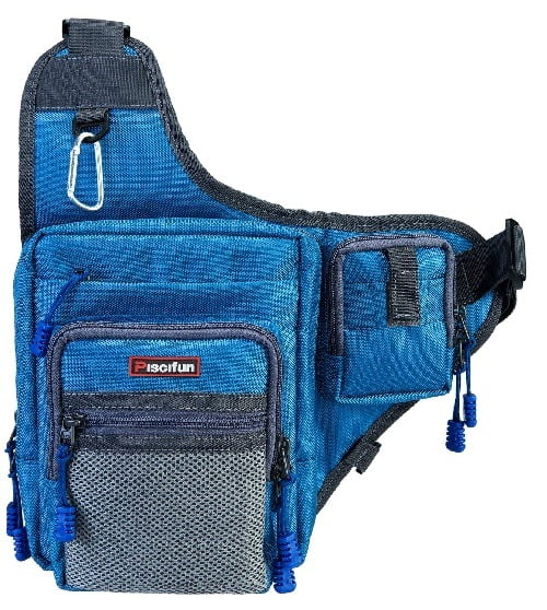 Piscifun Crossbody Fishing Backpack