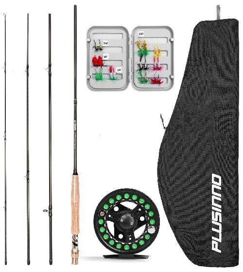 Plusinno Lightweight Fly Rod and Reel