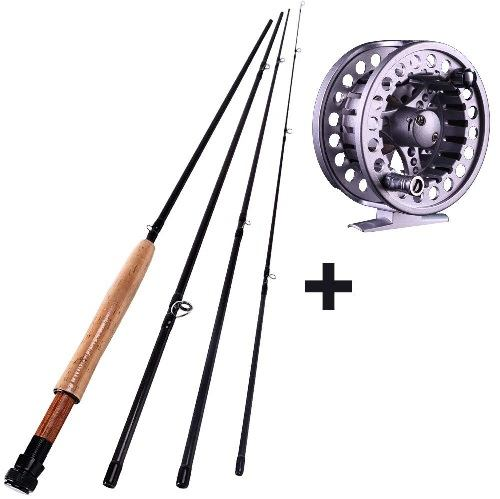 Sougayilang Fly Rod With Reel Combo Kit