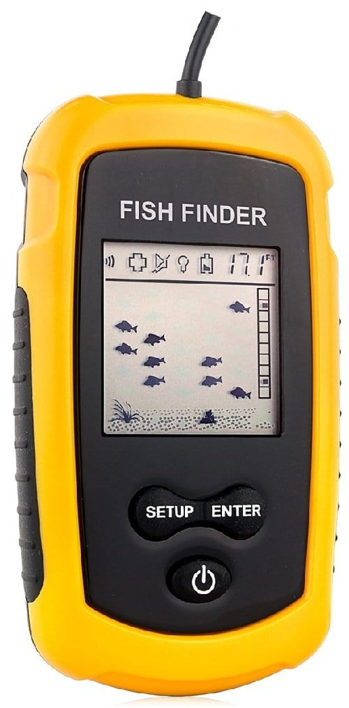 Venterior VT-FF001 Portable Kayak Fish Finder Best Budget Kayak Fish Finder