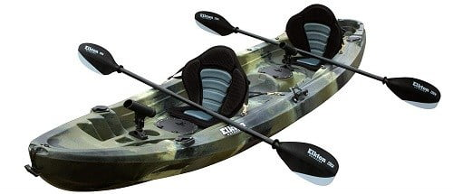 Elkton Outdoors 12 Foot Tandem Fishing Kayak