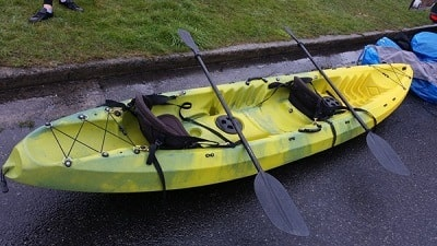 Sit-on-Top Recreational Kayak