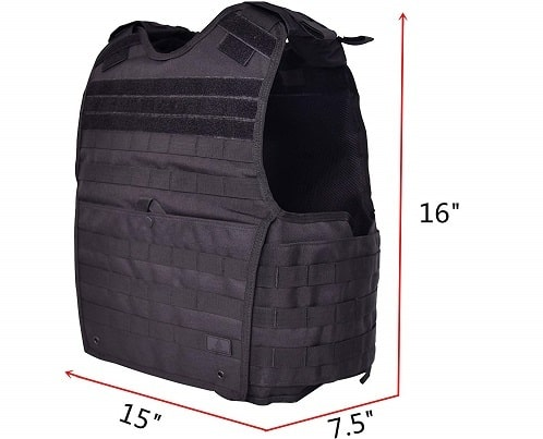 Gloryfire Tactical Vest Modular Plate Carrier