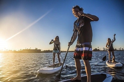 How to Stand Up On a Paddle Board