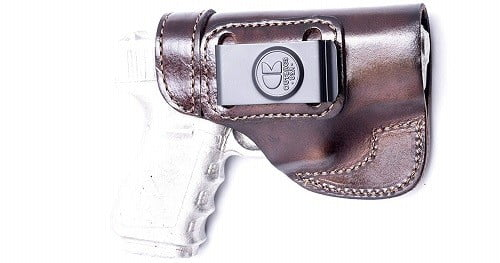OutBags LS2G19 Full Grain Heavy Leather IWB Holster
