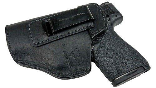 Relentless Tactical Defender Leather IWB Holster
