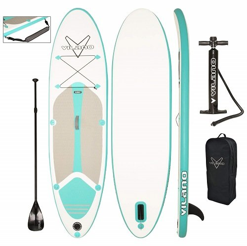 Vilano Journey Inflatable SUP Kit