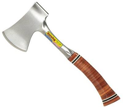 "Estwing Sportsman's Axe - 14"" Camping Hatchet"