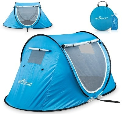 Abco Tech Pop Up Tent with Carrying Bag