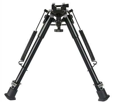 CVLife Rifle Bipod with Solid Sling Adapter Base