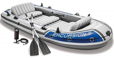 Intex Excursion 5 5-Person Inflatable Boat