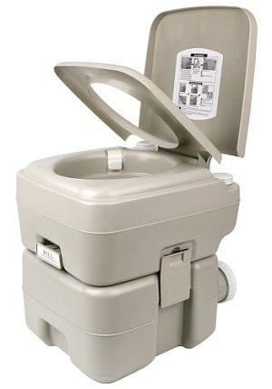Leopard Outdoor T-Type Portable Travel Toilet