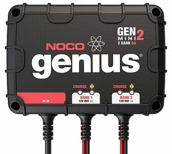 NOCO Genius GENM2 Smart On-Board Battery Charger