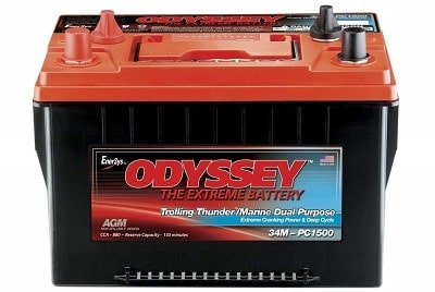 Odyssey 34M-PC1500ST Trolling Marine battery
