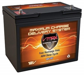 Vmaxtanks MR107-85 Marine battery