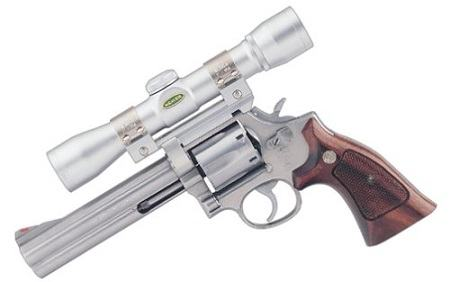 Weaver Classic Silver Handgun Scope