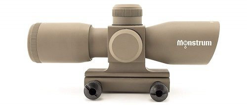 Monstrum Tactical Ultra-Compact Rifle Scope