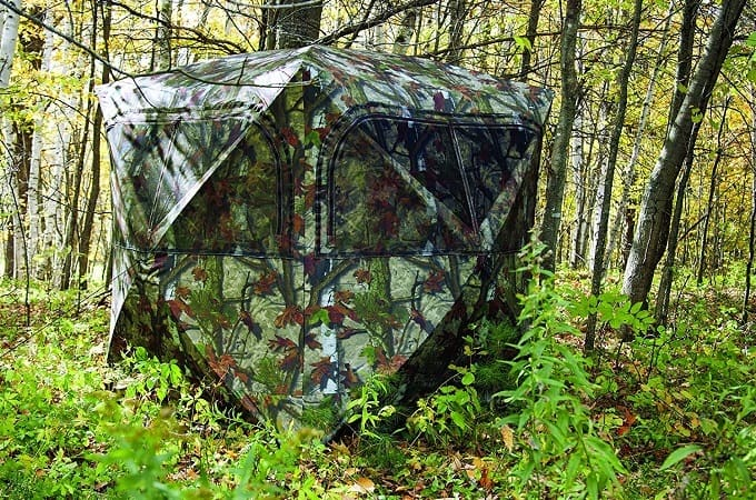 Tips for Hunting from a Ground Blind