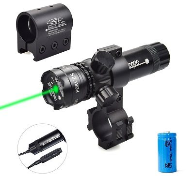 Twod Green Laser Rifle Sight Remote Pressure Switch