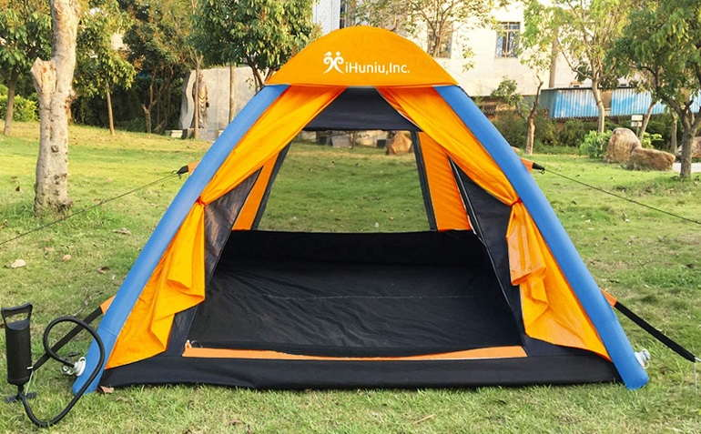 How To Set Up An Inflatable Tent
