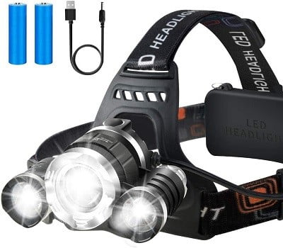Illushine Rechargeable Headlamp
