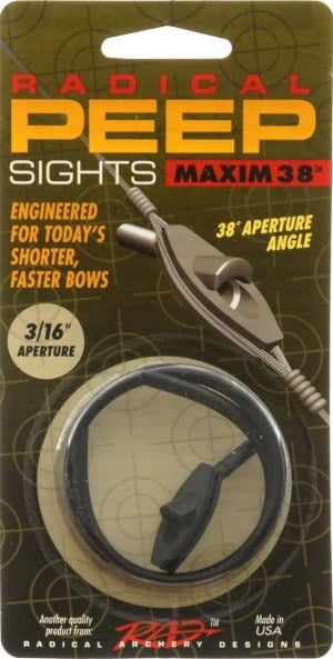 Radical Archery Designs Maxim 38